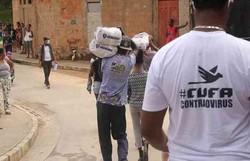 Cufa arrecada 400 toneladas de alimentos para mães da favela (Foto: CUFA/Divulgação)