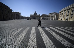 Itália proíbe voos do Brasil devido à nova variante do coronavírus (Filippo MONTEFORTE / AFP)