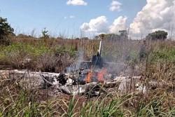 Quatro jogadores, presidente do Palmas e piloto morrem em queda de avião (Foto: Reprodução/Internet)