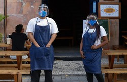 Serviços de alimentação e shoppings têm horário de funcionamento ampliado (Foto: Leandro de Santana/Esp. DP)