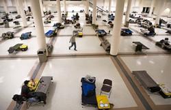 Nova York vai usar navio-hospital da Marinha para tratar pessoas com Covid-19 (Foto: Karen Ducey / GETTY IMAGES NORTH AMERICA / Getty Images via AFP)