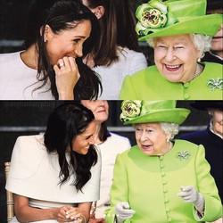 Elizabeth 2ª afasta boatos ao publicar homenagem de aniversário a Meghan Markle (Foto: meghanharrydaily/Instagram)