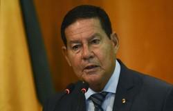 Mourão diz que desmatamento foi além do aceitável na região amazônica (Marcelo Camargo/Agência Brasil)