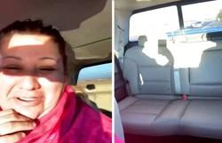 Mãe percebe que esqueceu filhos em casa e tem 'ataque de riso' no carro (Foto: Twitter/@torrespriss)