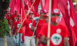 MST vai às ruas para apoiar Marília  (Foto: Divulgação)