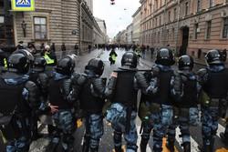 Quase 1.800 detidos em manifestações a favor do opositor Navalny na Rússia  (Foto: Olga MALTSEVA / AFP)