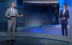 'Estamos esgrimando com loucos', desabafa Bonner sobre fake news (Foto: Reprodução/TV Globo)