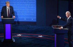 Obama sai em apoio a Biden e Trump percorre EUA a duas semanas das eleições (Foto: Saul Loeb/AFP)