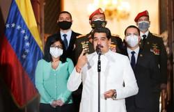 Maduro 'ordena' internação de 'todos' com COVID-19 (Foto: Jhonn ZERPA / Venezuelan Presidency / AFP)