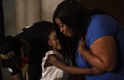 Em discurso, mãe de filha de Floyd lamenta: 'Eu quero justiça porque ele era bom' (Foto: STEPHEN MATUREN / GETTY IMAGES NORTH AMERICA / GETTY IMAGES VIA AFP)