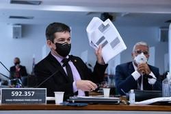 Senador Randolfe diz que Queiroga pode ser indiciado pela CPI da Covid (Foto: Edilson Rodrigues/Agência Senado)