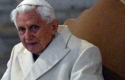 Vaticano tranquiliza fiéis sobre saúde do papa emérito Bento XVI (Foto: AFP)