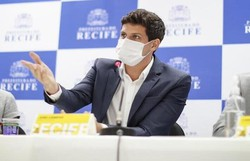 Prefeito do Recife, João Campos, testa positivo para Covid-19 (Rodolfo Loepert/ Divulgação)
