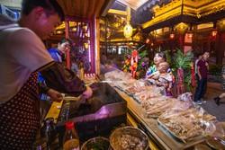 China promove austeridade culinária para combater o desperdício de alimentos (Foto: STR / AFP)