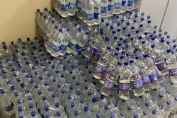 Operação em mercado da Mustardinha apreende mais de mil litros de álcool adulterado (Foto: PCPE/Divulgação)