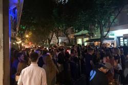 Primeira noite de funcionamento de bares tem aglomerações no Rio (Foto: Reprodução / TV Globo)