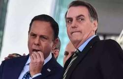 'Apaixonado', ironiza Doria sobre crítica de Bolsonaro a sua sunga (Foto: AFP)