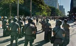 Torcidas rivais se unem em ato a favor da democracia na Paulista (Foto: Reprodução/Twitter)