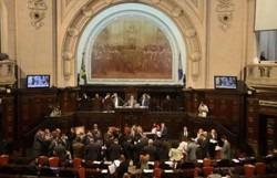 Por 69 votos a 0, deputados aprovam impeachment de Witzel (Foto: Tânia Rêgo/Agência Brasil)