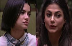 Discussão entre Mari e Manu no BBB cria desentendimento entre famílias das sisters (Foto: Reprodução/Globoplay)