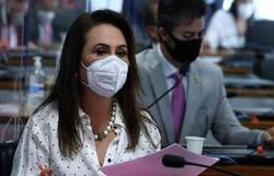 CPI: Kátia Abreu chama Ernesto Araújo de 'negacionista compulsivo' (foto: Edilson Rodrigues/Senado Federal)