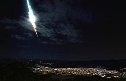Clarão no céu do Sertão de Pernambuco foi um meteoro do tipo bólido. Entenda