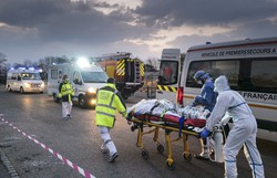 Segunda onda de Covid-19 poderia causar 120 mil mortes no Reino Unido, diz estudo (Foto: Sebastien Bozon/AFP)