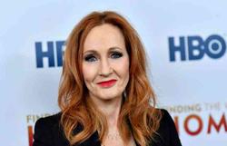 J.K. Rowling publica online conto de fadas para as crianças confinadas (Foto: Angela Weiss/AFP)
