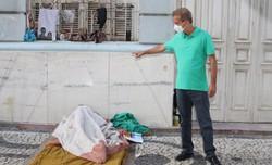 Candidato à prefeitura do Recife, Coronel Feitosa (PSC) lança o Auxílio Cidadão Verde Amarelo em seu plano de governo (Foto: Wilamy Henrique/Divulgação)