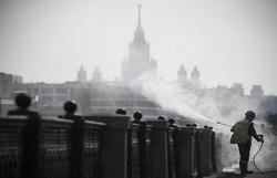 Covid-19: Rússia decide fechar fronteiras como medida de combate à pandemia (Foto: Alexander Nemenov/AFP )