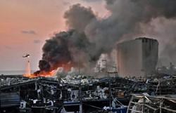 Explosões no porto de Beirute foram causadas por 2.750 toneladas de nitrato de amônia (Foto:STR / AFP  )