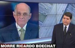 Acidente que matou Boechat ocorreu por falha de manutenção, diz FAB (Foto: Band/ Reprodução)