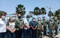 Centro de Conservação de Mamíferos Aquáticos na Ilha de Itamaracá será recuperado  (Foto: Matheus Ribeiro/Prefeitura de Itamaracá )