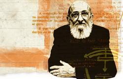 Paulo Freire chega em centenário sendo bode expiatório da direita (Arte: Silvino/DP)