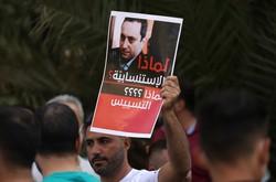 Polêmica no Líbano por saída de militante-chave na investigação da explosão do porto (Foto: JOSEPH EID / AFP)
