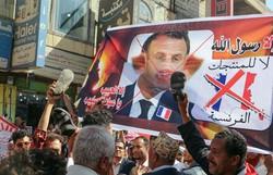 Macron denuncia que 'manipularam' suas declarações sobre caricaturas de Maomé (Foto: STR / AFP )