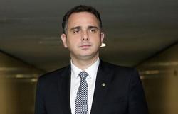 Rodrigo Pacheco é anunciado candidato à presidência pelo PSD (Foto: Wilson Dias/Agência Brasil )