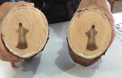 Biólogo explica fenômeno ligado à imagem de 'jesus' em tronco de árvore no Mato Grosso (Foto: Moisés Batista dos Santos)