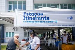 Estações Itinerantes chegam a oito bairros do Recife nesta segunda (Fotos: Andréa Rêgo Barros/PCR)
