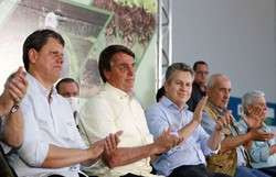 Bolsonaro entrega títulos de propriedade rural em Mato Grosso (FOTO: ALAN SANTOS/PR)