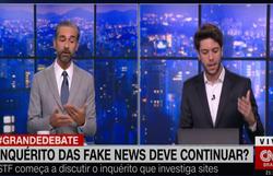 Augusto deixa 'O Grande Debate', da CNN, após discussão com Caio Coppolla (Foto: Reprodução/CNN Brasil)
