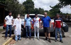 UFPE doa álcool 70% para Secretarias de Saúde de Vitória de Santo Antão e São Caetano (Doações vão ajudar orgãos de saúde de municípios do interior. Foto: Divulgação)