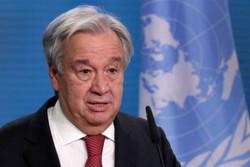 Cúpula do Clima: Planeta está à beira do abismo, diz secretário da ONU (Foto: MICHAEL SOHN/AFP)