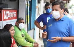 """Mendonça (DEM) anuncia programa """"Casa Legal"""", que concederá títulos de posse de imóveis à população carente do Recife  (Foto: Guga Matos)"""
