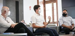 João Campos (PSB) participa de reunião na UNICAP e discute melhorias para problemas urbanos no Recife (Foto: Rodolfo Loepert)