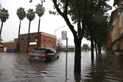 'Ciclone-bomba' leva fortes chuvas e ventos ao norte da Califórnia (Foto: AFP)