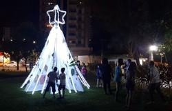 Fundaj acende árvores de Natal em ação solidária (Fotos: Fundaj/Divulgação)