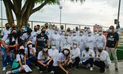 Cufa oferece testes rápidos de Covid-19 a moradores de comunidades (Foto: Cufa / Divulgação)