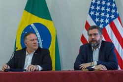 Senado aprova convite para Araújo falar sobre visita de Pompeo (Foto: BRUNO MANCINELLE / POOL / AFP)