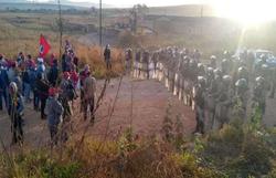 PM conclui reintegração de posse de acampamento em Minas Gerais (Foto: MST)